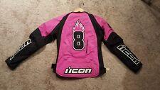 icon pink jacket xl