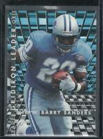 Barry Sanders 1995 Fleer Gridion Kings #5 Detroit Lions