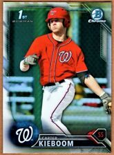CARTER KIEBOOM - 2016 BOWMAN CHROME DRAFT REFRACTOR RC