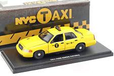 Ford Crown Victoria NYC Taxi Baujahr 2011 gelb 1:43 Greenlight