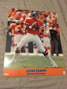 (20) 1990s JOHN ELWAY Vintage Licensed 16 x 20 Photofile Poster - Denver Broncos