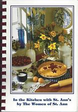 *BARTLETT TN 2003 IN THE KITCHEN WITH ST ANN'S COOK BOOK *CATHOLIC CHURCH *LOCAL