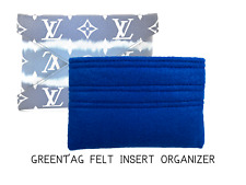 Handmade felt insert for L V Kirigami Medium size - Blue