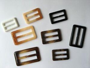 Plastic Slider Buckle for Webbing Bag Belt Garment Accessories