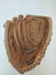 Louisville Slugger LHT Leather Baseball Glove LSG7 Super Daddy Top Grain Cowhide