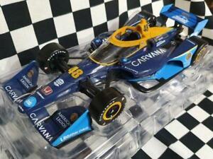 2021 Jimmie Johnson / Chip Ganassi Racing #48 Carvana 1:18th NTT Honda IndyCar