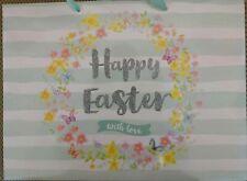 Easter Gift Bag, Perfect Gift (large, Tag & Bag Seal) Flower Design