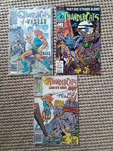 Thundercats Comics lot 3 1986 - Marvel Comics - Star Comics