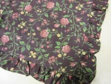 Jcpenney Home Collection Wine Floral Euro Pillow Sham New!