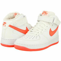 SCARPE SNEAKERS DONNA NIKE ORIGINALE AIR FORCE 1 MID GLOW GS 685594 100 AI NEW