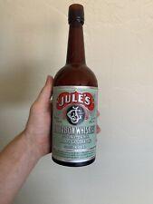 Pre Prohibition Julius Goldbaum Tucson Az Antique Whiskey Bottle (1890s)