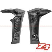 2006-2015 FZ-1 Fazer Front Side Radiator Cover Panel Fairing Cowl Carbon Fiber