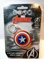 JM2114657 Marvel Avengers Captain America (Portachiavi Multifunzione) sealed new