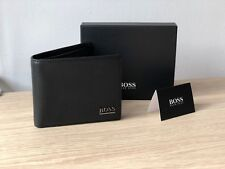 Hugo Boss Purse Monist Black Leather Men's Wallet 50261706