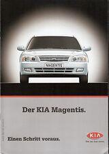 Prospekt / Brochure Kia Magentis 04/2002
