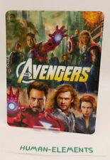 Marvel THE AVENGERS - 3D Lenticular Flip Magnet Cover FOR bluray steelbook