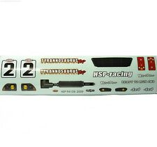 88030 Decals for RC 1/10 Scale Monster Truck Body