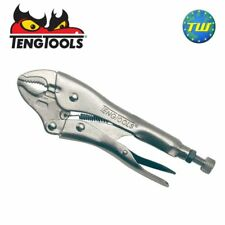 Teng 10in Power Grip Pliers - 250mm Self Locking Engineers Mole Grips 401-10
