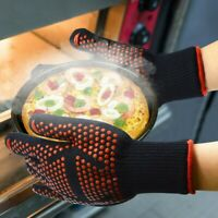Extreme Heat Resistant Gloves BBQ Oven Grilling Cooking Glove Mitts 932℉ Kitchen