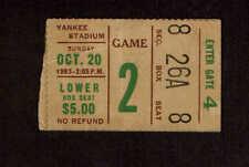 1963  NEW YORK GIANTS vs DALLAS COWBOYS  Ticket Stub