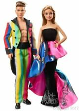 2016 MOSCHINO Barbie and Ken GiftSet Gold Label IN Hand--DRW81