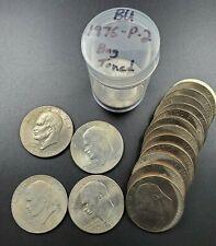 1976 P T2 $1 Eisenhower Ike Bicentennial Dollar Average UNC BU Roll 20 Coin Tone