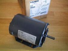AO Smith Motor 922 1/3 HP ~ 1725 RPM ~ 115 V ~ L48Z