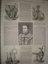 Sale of the Bernal Collection 1855 prints ref AV