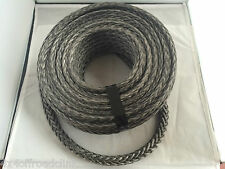 Synthetic winch rope 11mm x 50m 4WD Recovery Offroad Warn hi mount