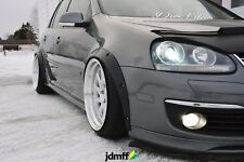 "Volkswagen VW Golf Mk5 Fender Flares wide body kit wheel arch 2.0"" 4pcs full set"