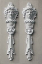 Ornate Columns White Ornate French Style Decorative Furniture Frame Mouldings