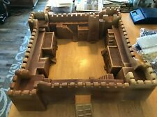 54mm Formtech Foreign Legion Fort with Armies in Plastic & other figures