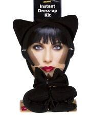 Halloween Déguisements oreilles chat set queue Nœud Papillon Set chat femme noir par smiffys
