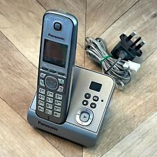 Panasonic KX-TG6721E Cordless Home Phone Telephone with Answering Machine Tested