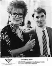 """Lynn Redgrave & Jesse Birdsall  """"Getting It Right"""" Vintage Movie Still"""
