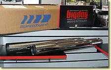 BIG DOG MOTORCYCLES MEAN MOTHERS SLIP-ON MUFFLER 8% HP GAIN- HIGH PERFORMANCE