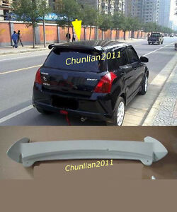 Factory Style Spoiler Wing ABS for 2007-2018 Suzuki Swift Spoilers 5dr HB