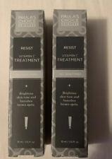 Paula's Choice Resist Vitamin-C Spot Treatment 2 X 0.5oz 15ml NIB