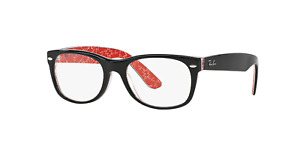 Ray Ban New Wayfared Optics Black 52 18 145 Style #RX5184