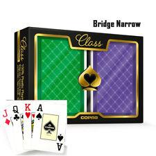 COPAG Plastic Playing Cards Bridge Size Jumbo Index Class Standard Free Gift