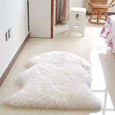 Fluffy Rugs Anti-Skid Shaggy Rug Dining Room Home Bedroom Floor Carpet Soft Mat