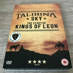 TALIHINA SKY THE STORY OF KINGS OF LEON DVD WITH PLECTRUM AND F/WILL FAMILY TREE