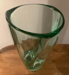 Sklo Hermanova Pecany Vase No 19973 60's MCM