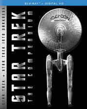 Star Trek: The Compendium (Blu-ray Disc, 2016, 4-Disc Set) LIKE NEW