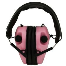 Caldwell E-Max Electronic Hearing Protection, Pink (487111) Electronic Ear Muffs