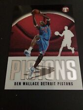 2003-04 Topps Pristine #39 - Ben Wallace - Detroit Pistons in Top Loader