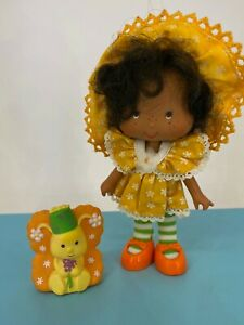Vintage 1980s Strawberry Shortcake - Party Pleaser Orange Blossom with Marmalade