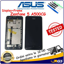 TOUCH SCREEN LCD DISPLAY ASUS ZENFONE 5 A500CG T00J FRAME NERO