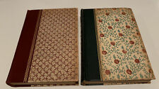 """2 Vtg Lovely Collector Pocket Books: """"Tales From The Decameron"""" & """"The Big Sky"""""""