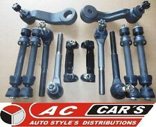 10 Aftermarket Tie Rod Ball Joint Steering Suspension kit Sleeves Links 4WD
